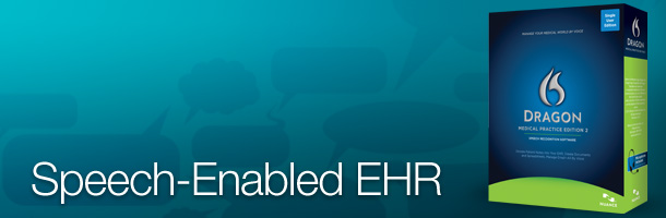 Dragon Medical Practice Edition Speech-Enabled EHR